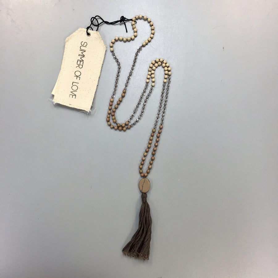 "Summer of Love ""Pura"" Tassel Necklace, SOL-Summer of Love, Putti Fine Furnishings"