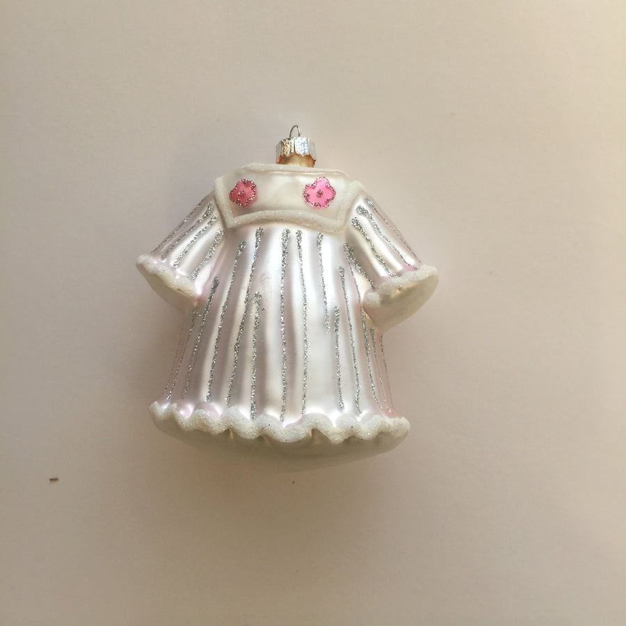 Pink Baby Dress Ornament