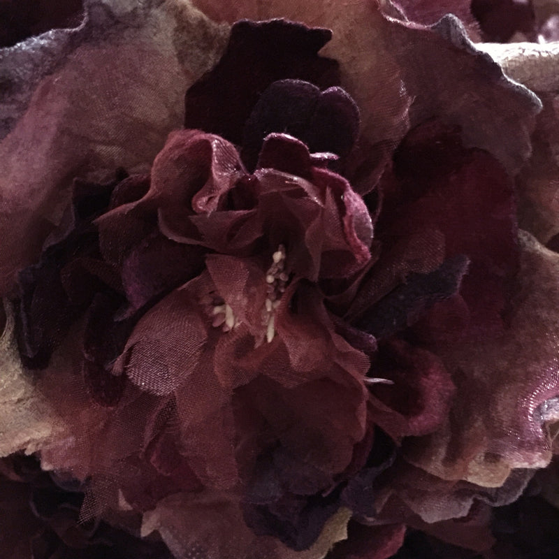 Miss Rose Sister Violet Cabbage Rose - Mulberry