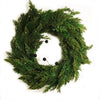 Cedar Wreath with Berries, GI-Green Imports, Putti Fine Furnishings