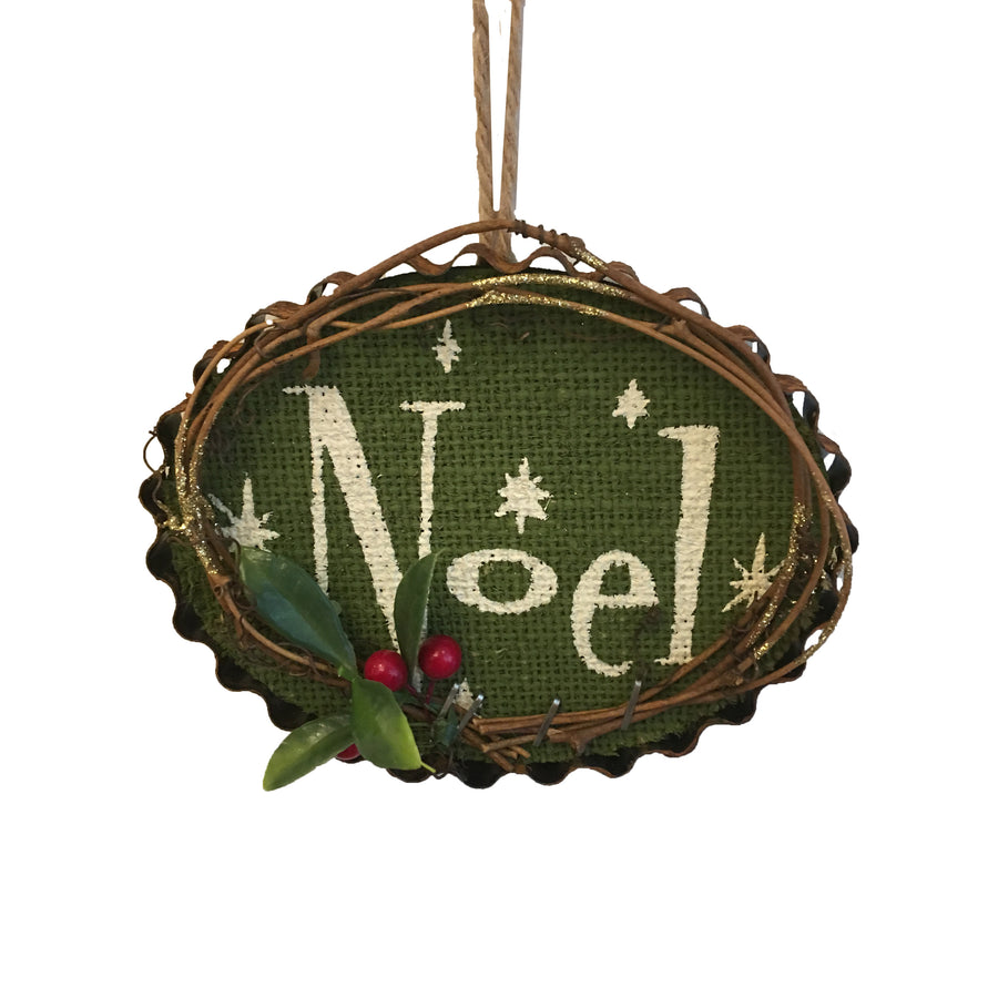 Wooden Noel Ornament