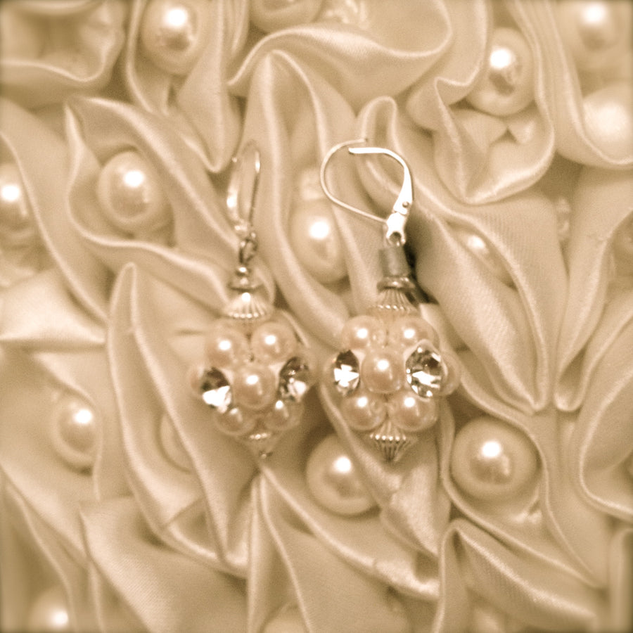 Pearl Earrings by Rita D