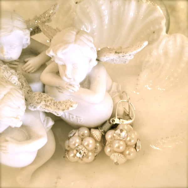 Pearl Earrings by Rita D -  Jewelry - Rita D - Putti Fine Furnishings Toronto Canada - 1