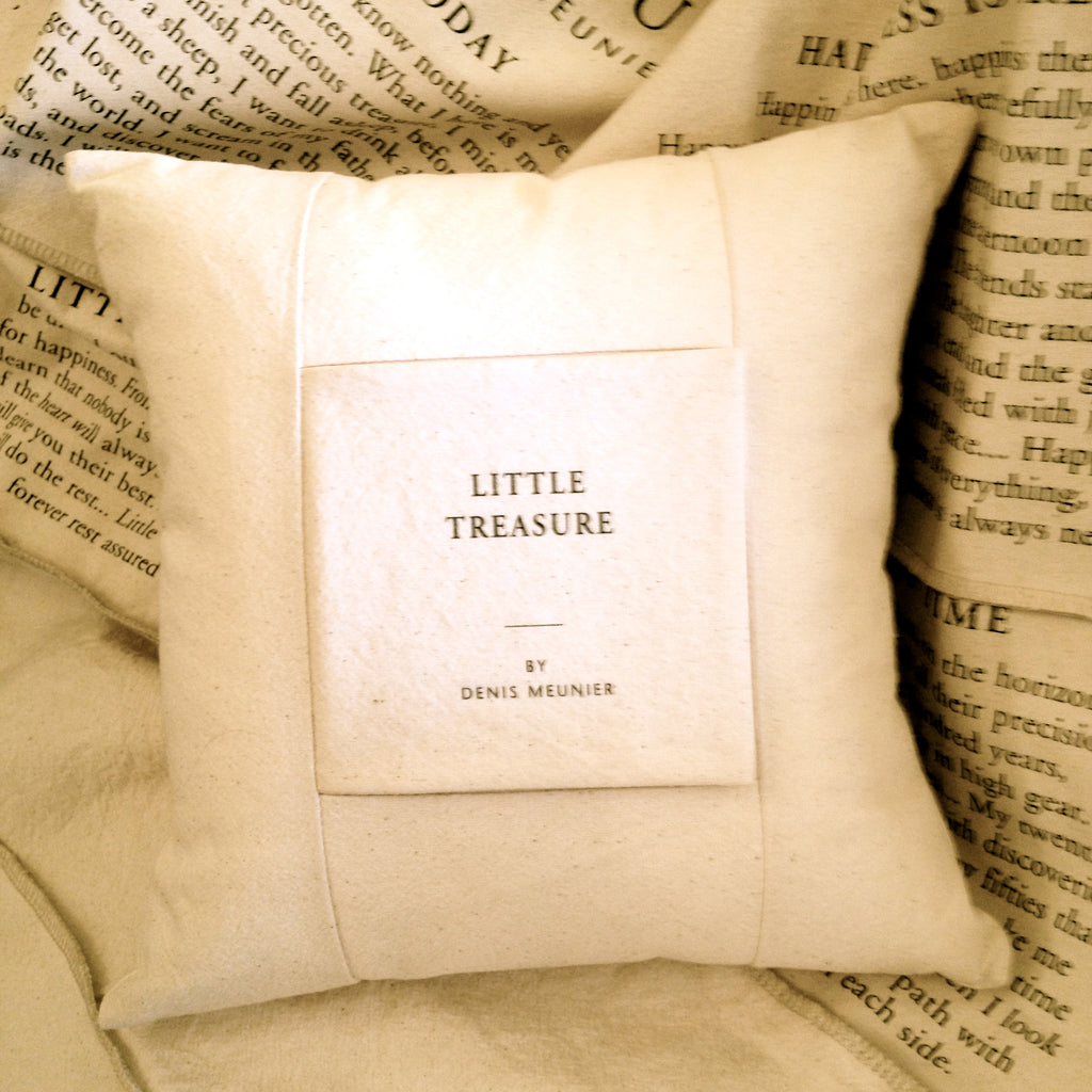 Poetry Pillow -  Pillow - handmade - Putti Fine Furnishings Toronto Canada