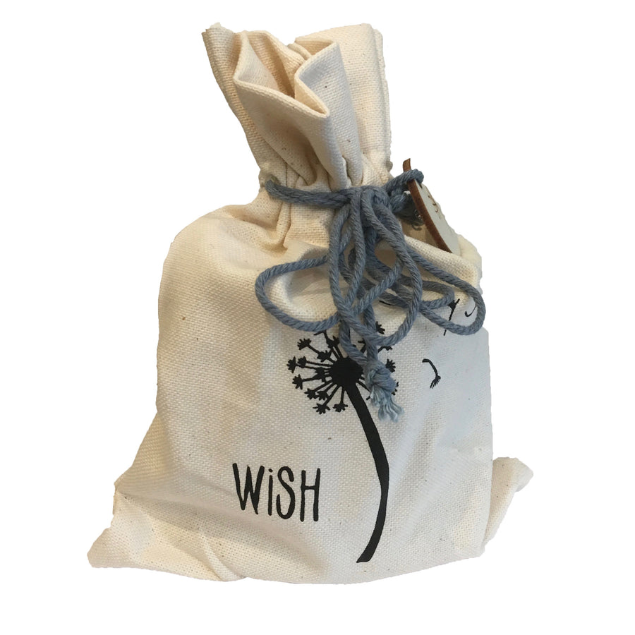 Wish - Candle in Drawstring Bag