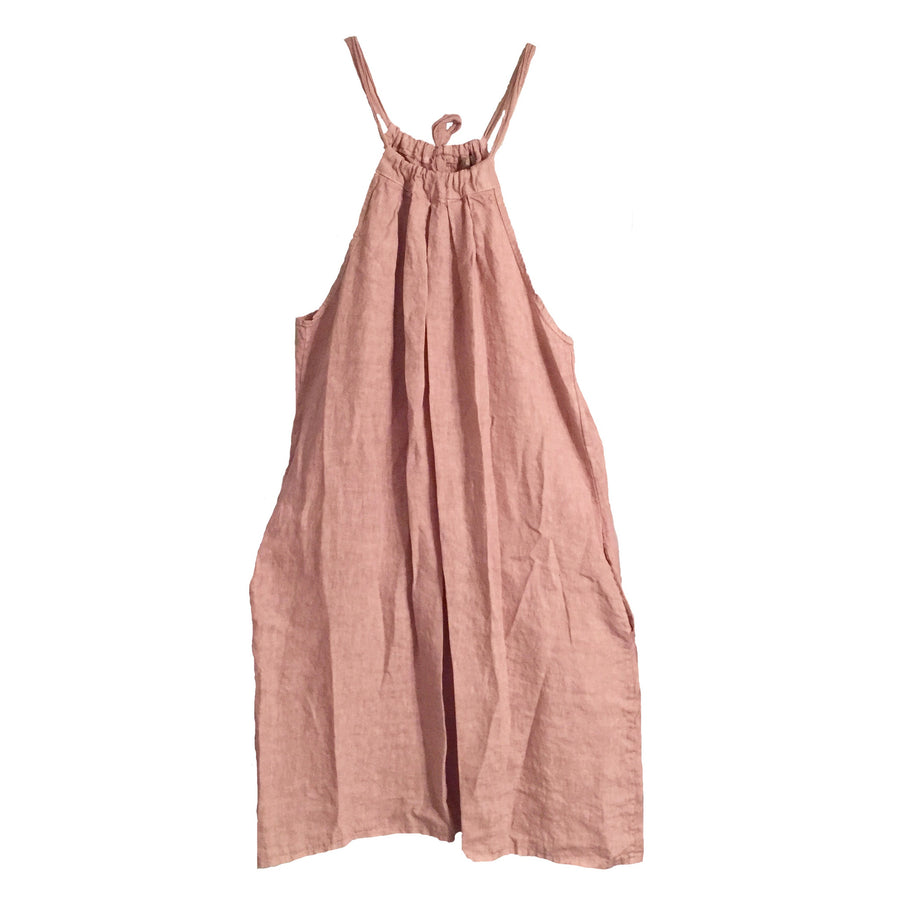 Linen Halter Dress - Blush, TO-Terminal One, Putti Fine Furnishings