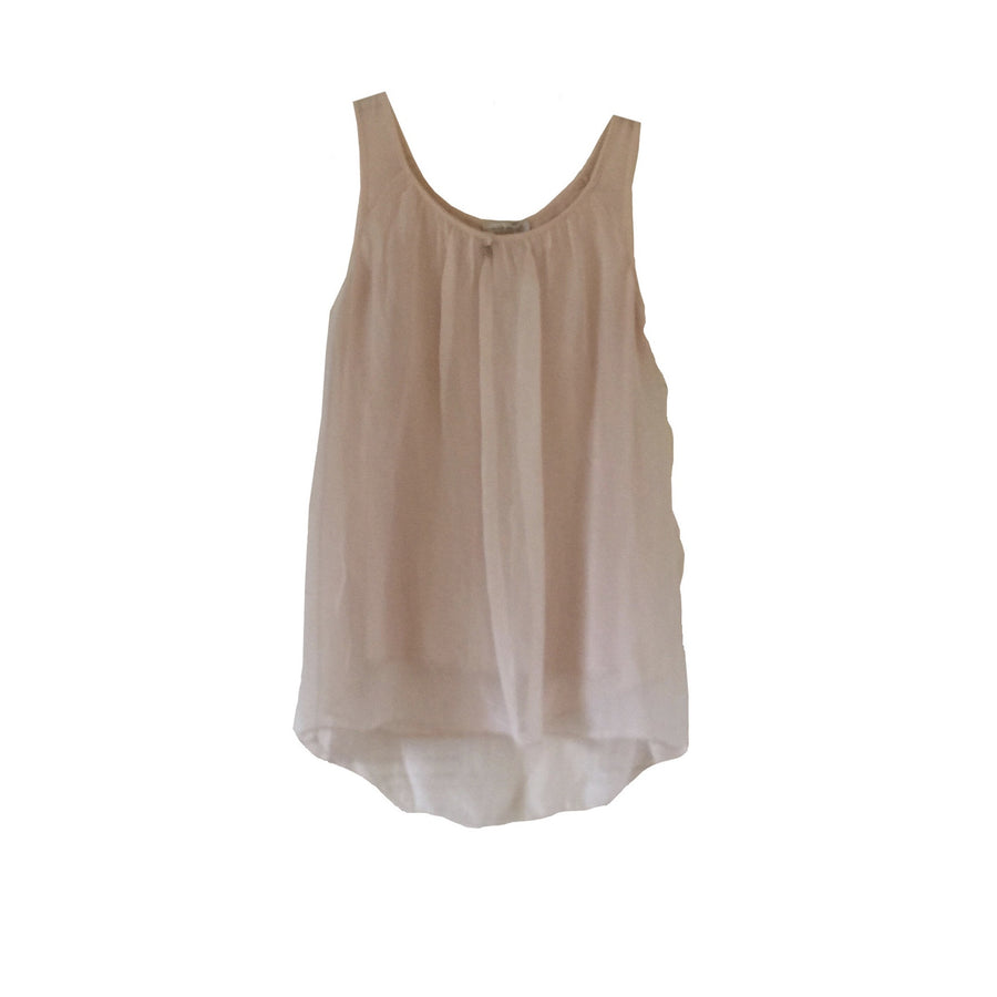 Sleeveless Silver Heart Top - Blush Pink, TO-Terminal One, Putti Fine Furnishings