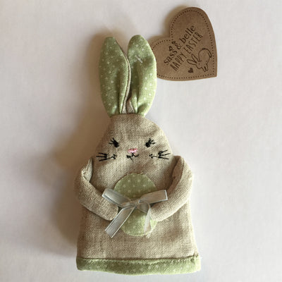 Easter Rabbit Egg Cosy - Green Easter - RJBS-RJB Stone - Putti Fine Furnishings Toronto Canada - 2
