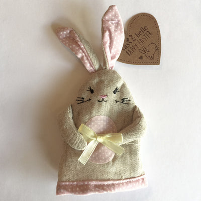 Easter Rabbit Egg Cosy - Pink Easter - RJBS-RJB Stone - Putti Fine Furnishings Toronto Canada - 3