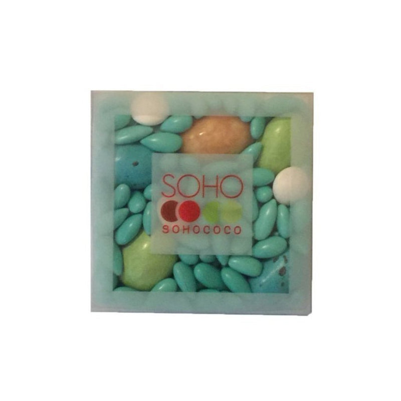 Sohococo Chocolate Covered Sunflower Seeds - Aqua and Green