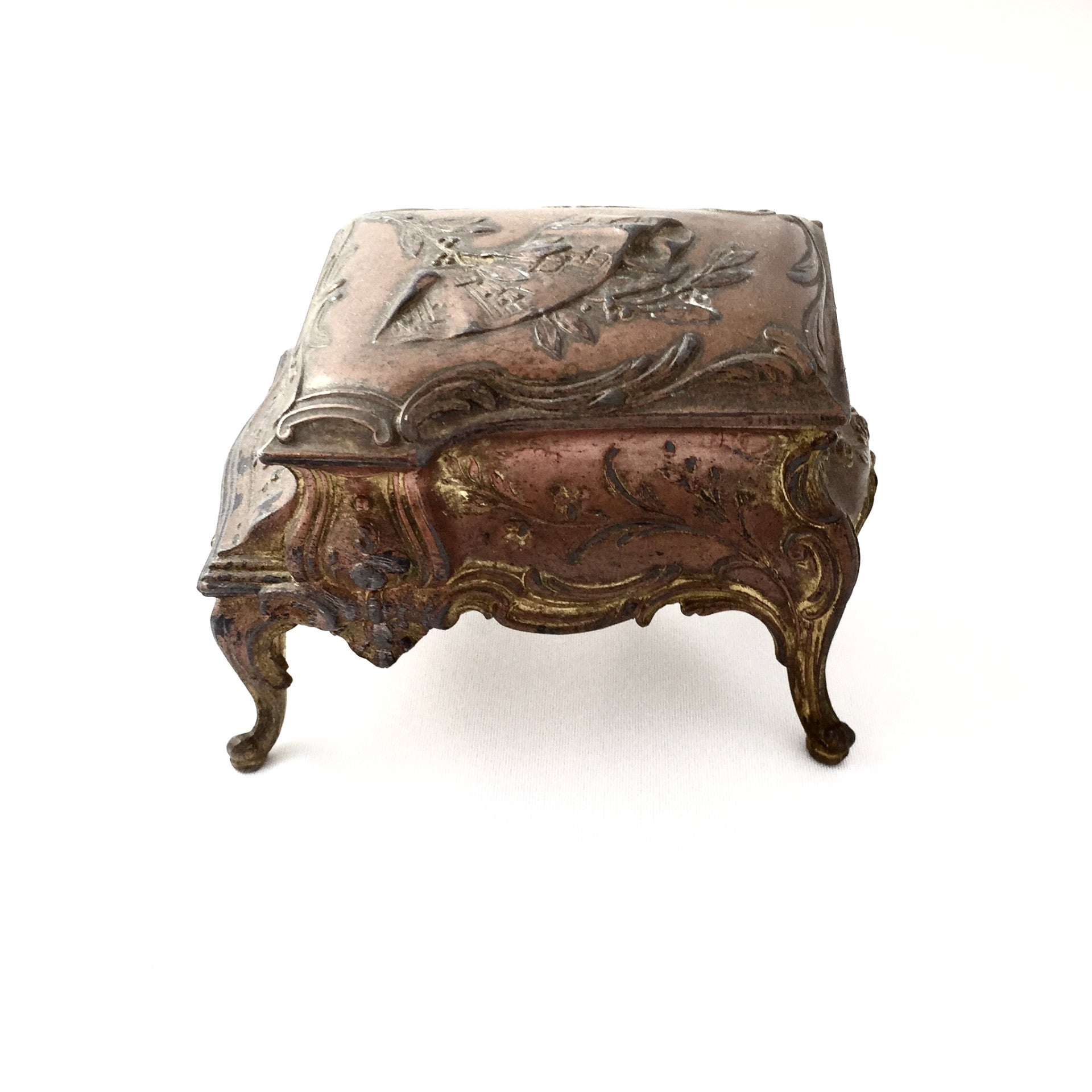 Antique French Trinket Box-Antiques-Antique French-Putti Fine Furnishings