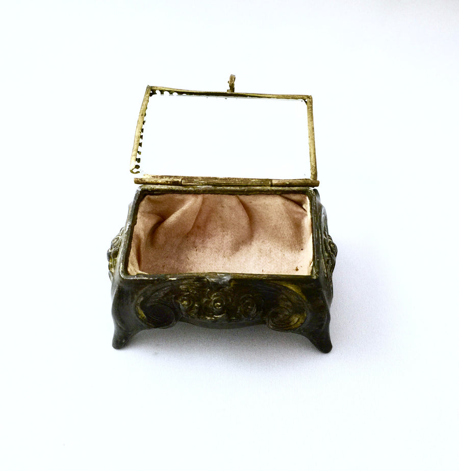 Antique French Trinket Box