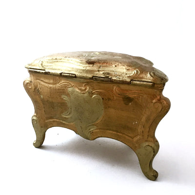 Antique French Gilded Trinket Box, Antique French, Putti Fine Furnishings