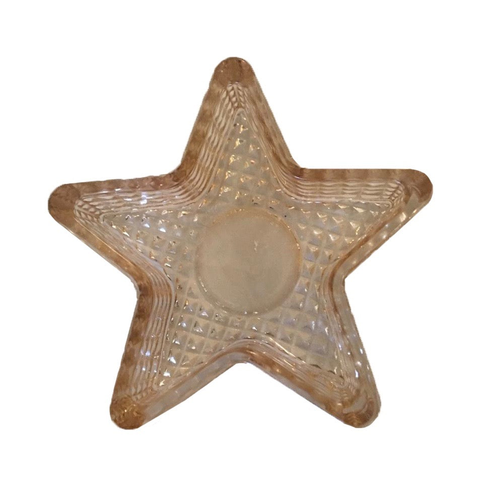 Glass Star Tealight holder | Putti Christmas Celebrations