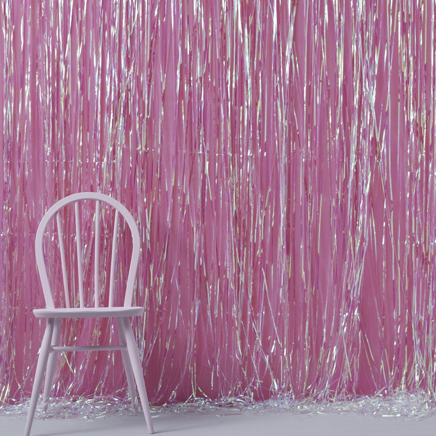 Iridescent Foil Fringe Curtain Decoration, GR-Ginger Ray UK, Putti Fine Furnishings