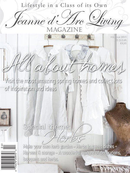 Jeanne d'Arc Living Magazine April 2015 4th edition, Jeanne d'Arc Living, Putti Fine Furnishings