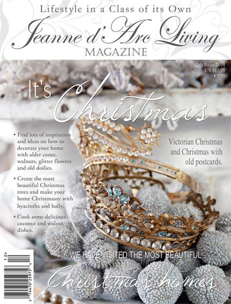 Jeanne d'Arc Living Magazine December 2014 12th edition-Book-Jeanne d'Arc Living-Putti Fine Furnishings