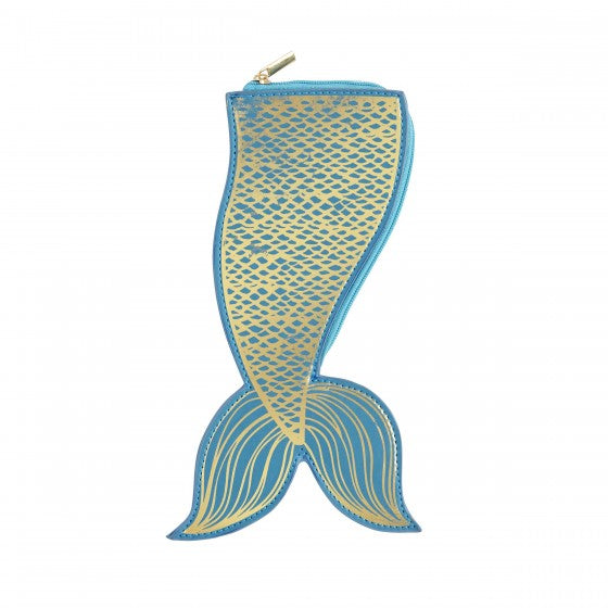 CR Gibson Mermaid Tail Pouch | Putti Fine Furnishings