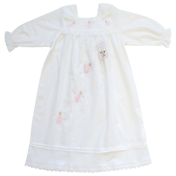 """Maddy"" Angel Night Dress - 1-2 Years Children's Clothing - Powell Craft Uk - Putti Fine Furnishings Toronto Canada - 1"