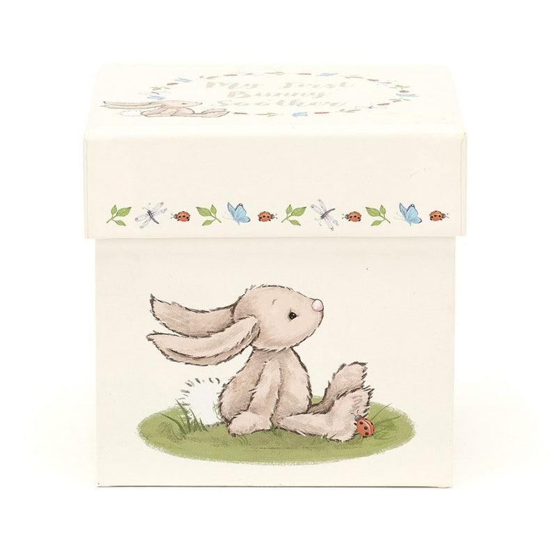 "Jellycat ""My First Bunny"" Soother in Gift Box 