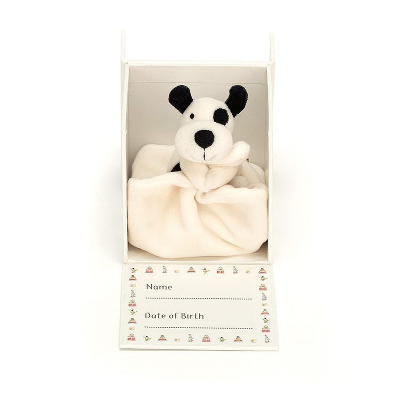 "Jellycat ""My First Puppy"" Soother in Gift Box 