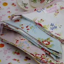 Mixed Floral Fabric Bunting, PC-Powell Craft Uk, Putti Fine Furnishings
