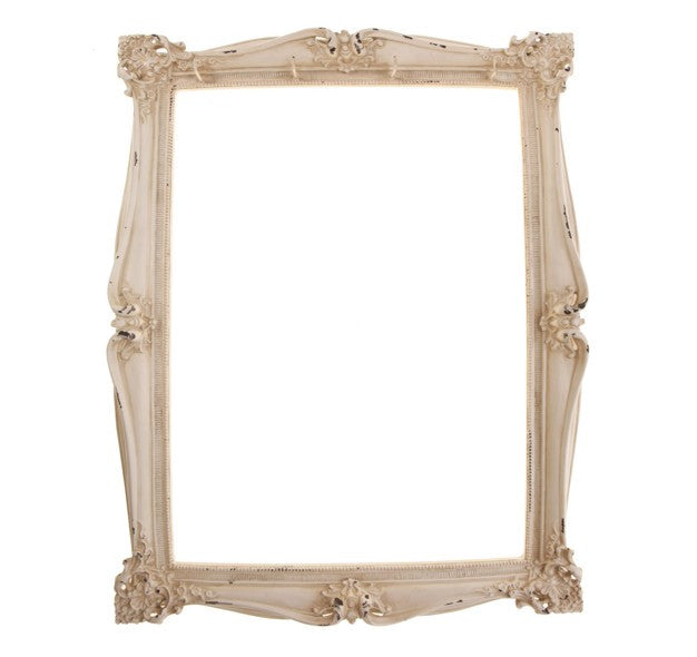 Cream Frame With Jewelry Hooks