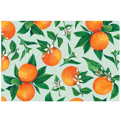Hester & Cook Orange Orchard Placemats | Putti Celebrations & Partyware