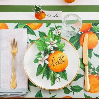 Hester & Cook Orange Orchard Placemats