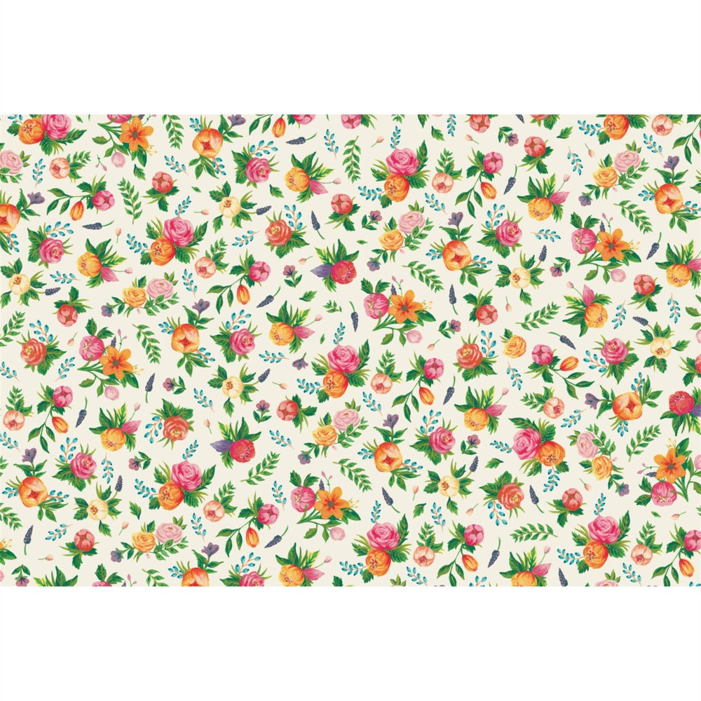 Hester & Cook Sweet Garden Paper Placemats