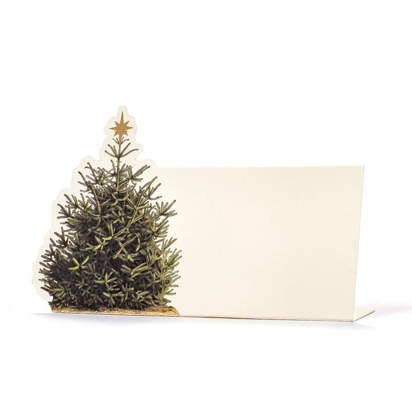 Hester & Cook Christmas Tree Placecards