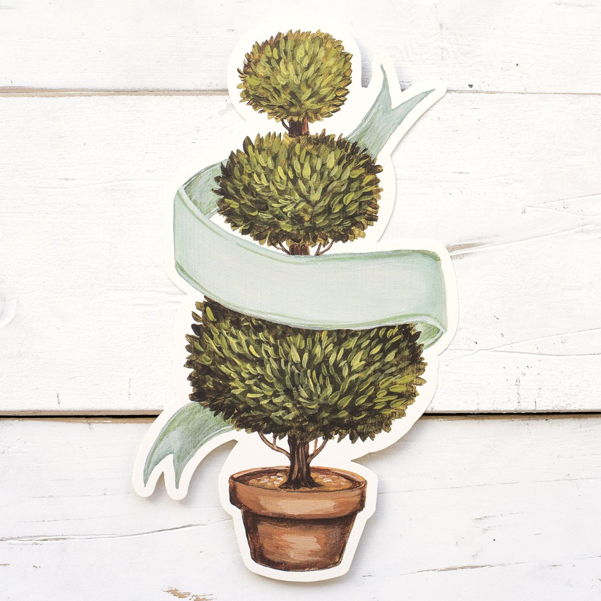 Hester & Cook Die-Cut Topiary Tree Table Accent | Putti Fine Furnishings