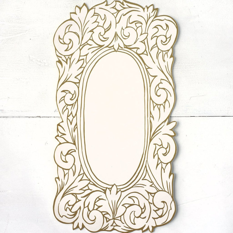 Hester & Cook Die-Cut Gilded Frame Table Accent