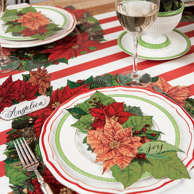 Hester & Cook Poinsettia Table Accent