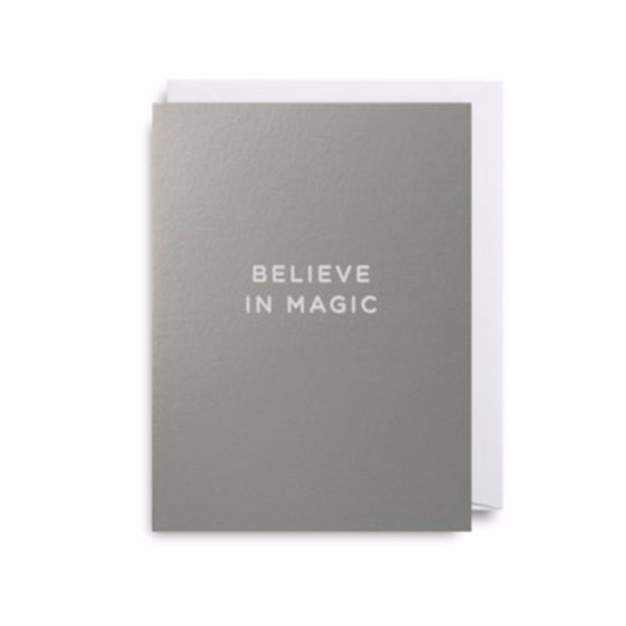 Believe in Magic ... Mini Card