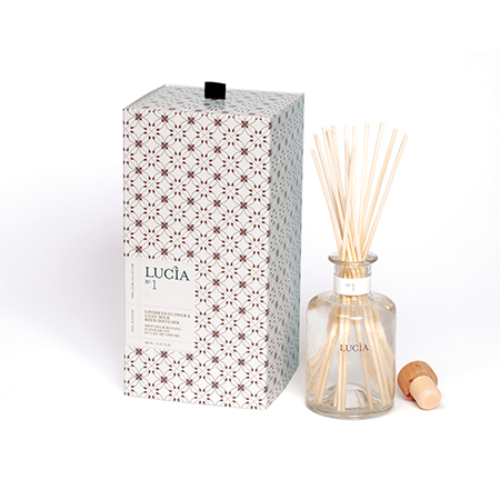 Lucia Goat Milk & Linseed Reed Diffuser | Putti Fine Furnishings