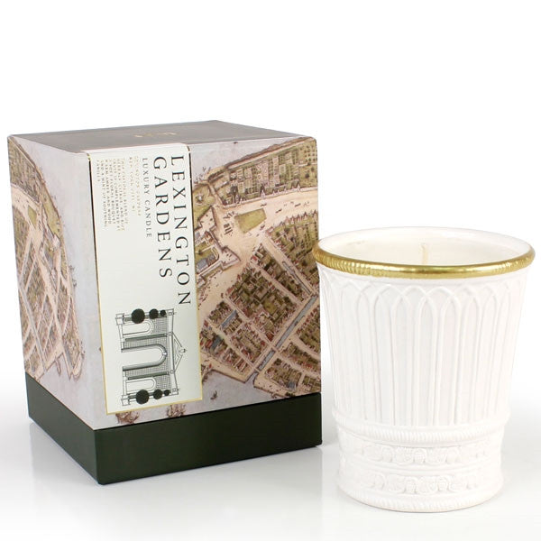 Seda France Lexington Gardens Ceramic Candle -  Home Fragrance - Seda France - Putti Fine Furnishings Toronto Canada