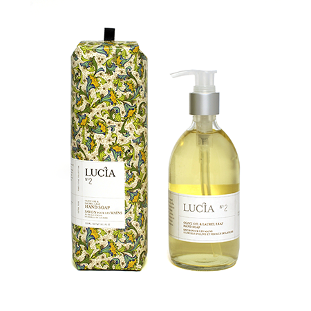 Lucia Liquid Soap Olive Oil & Laurel Leaf | Putti Fine Furnishings