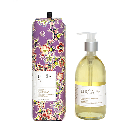 Wild Ginger & Fresh Fig Liquid Soap | Putti Fine Furnishings