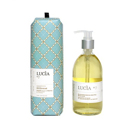 Lucia Sea Watercress & Chai Liquid Soap | Putti Fine Furnishings