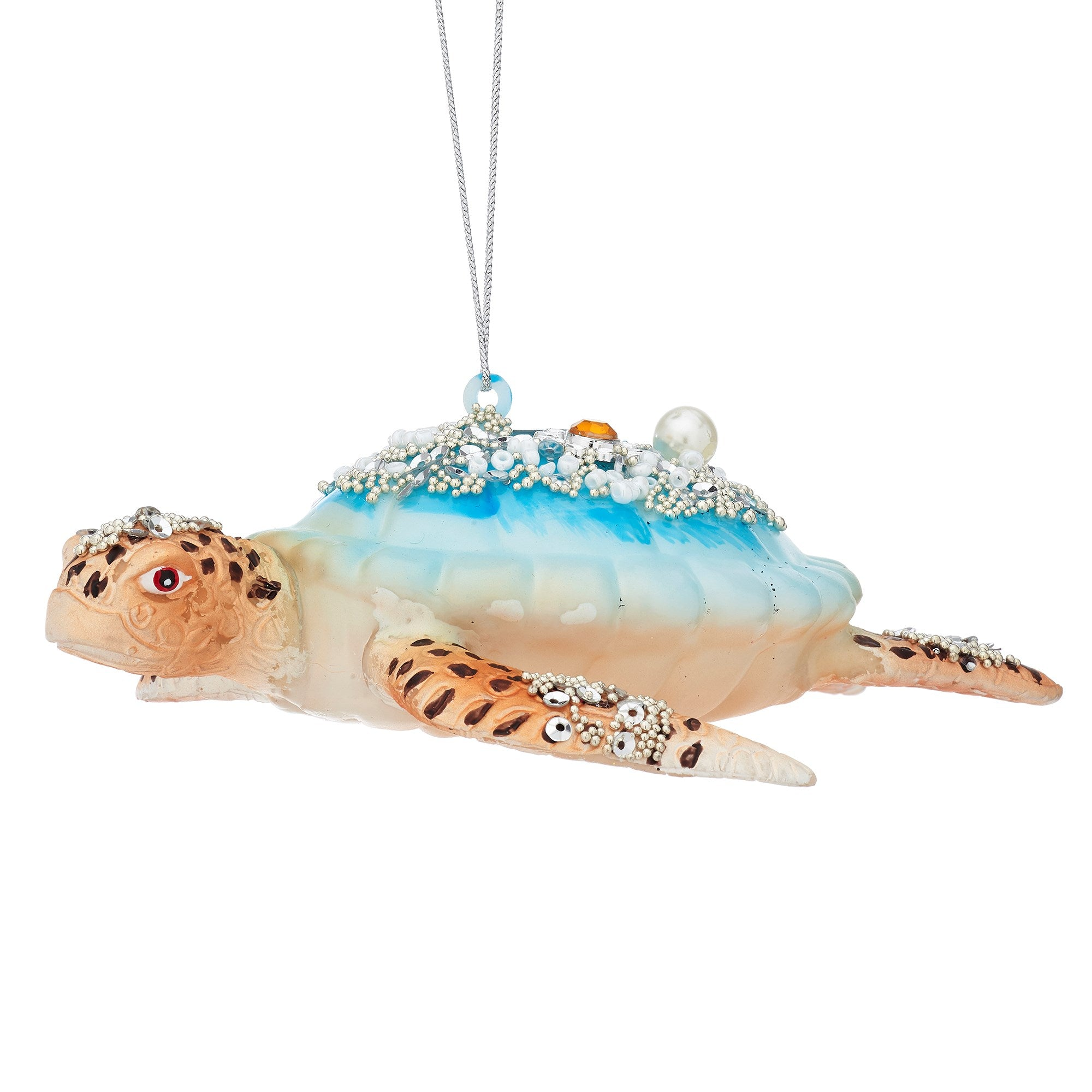 Turtle Glass Ornament | Putti Christmas Decorations