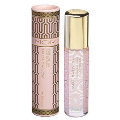 Mor Little Luxuries Roll On Perfume - Marshmallow