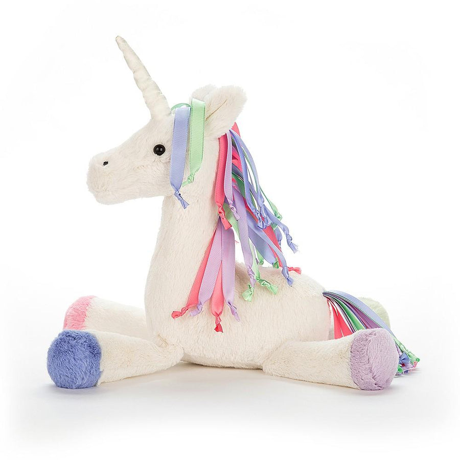"Jellycat ""Lollopylou"" Unicorn Chime Soft Toy"