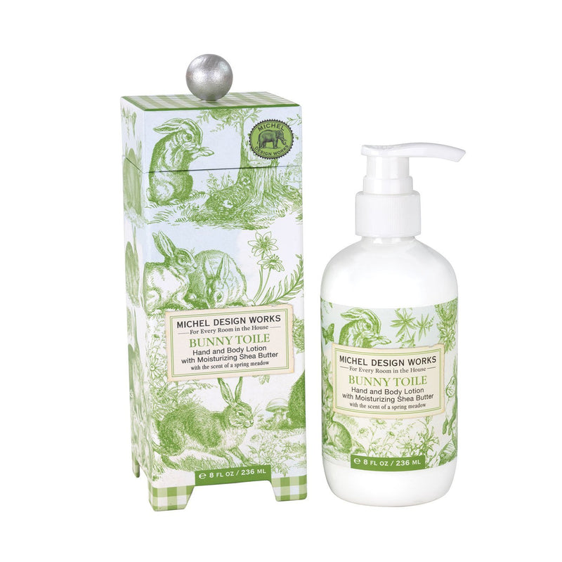 "Michel Design Works ""Bunny Toile"" Lotion 