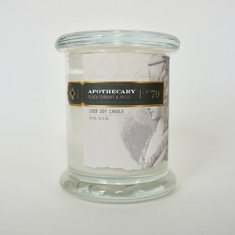 Pure Home Couture Apothecary Candle | Black Current Anise No.79 | Putti Fine Furnishings Toronto Canada