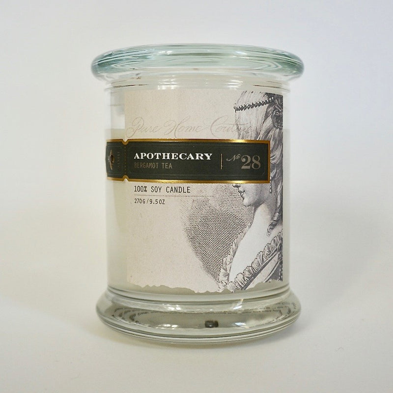 Apothecary Candle by Pure | Bergamot Tea No.28 | Putti Fine Furnishings