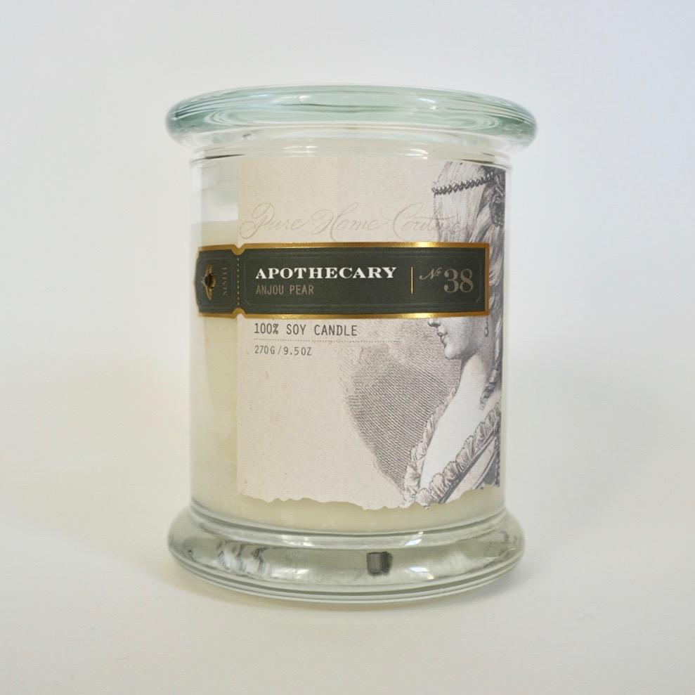 Apothecary Candle by Pure | Anjou Pear No. 38 | Putti Fine Furnishings Toronto Canada