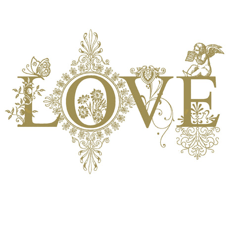 """Love"" Greeting Card-Stationary-ID-Incognito Distribution-Putti Fine Furnishings"