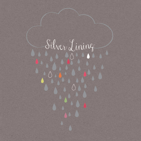 """Silver Lining"" Greeting Card-Stationary-ID-Incognito Distribution-Putti Fine Furnishings"