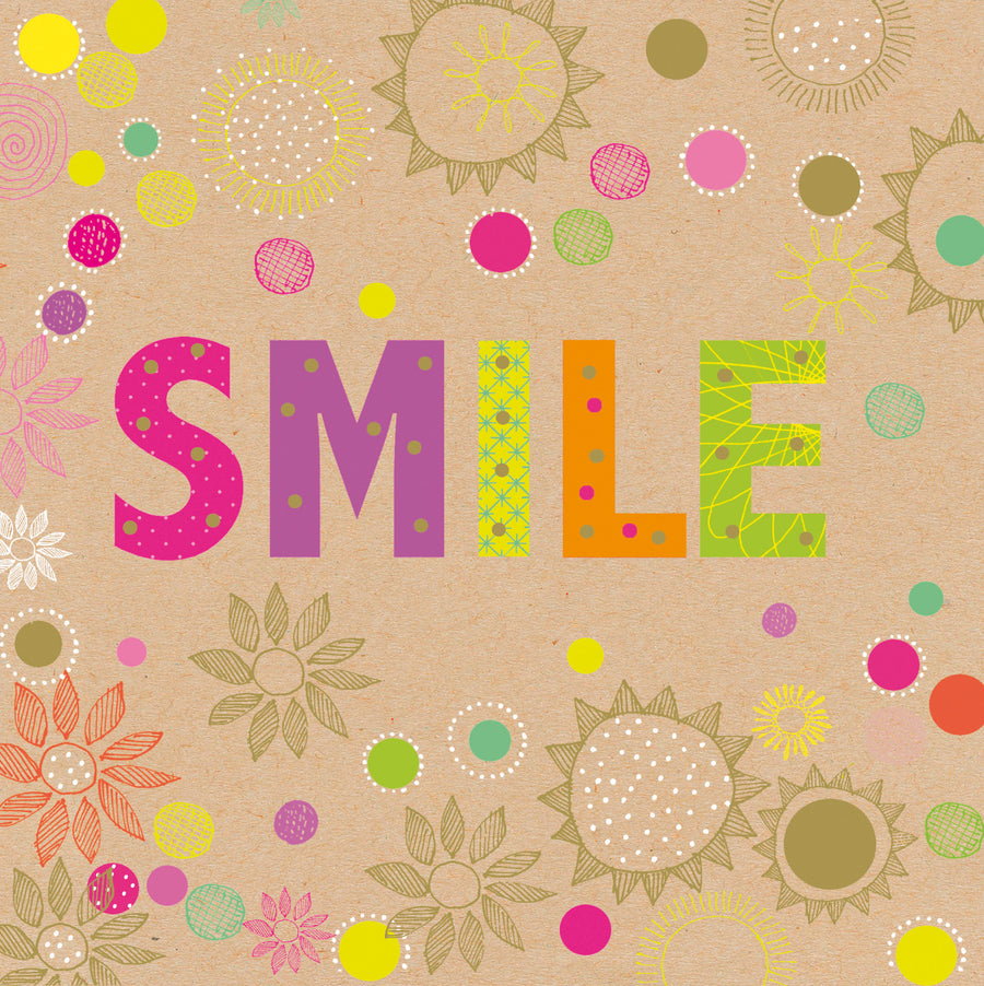 """Smile"" Greeting Card"